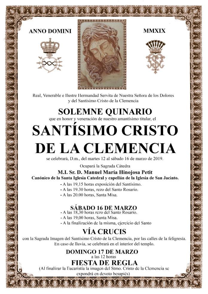 Cartel Quinario 2019